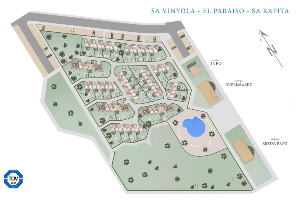 Gesamtplan ElParaiso